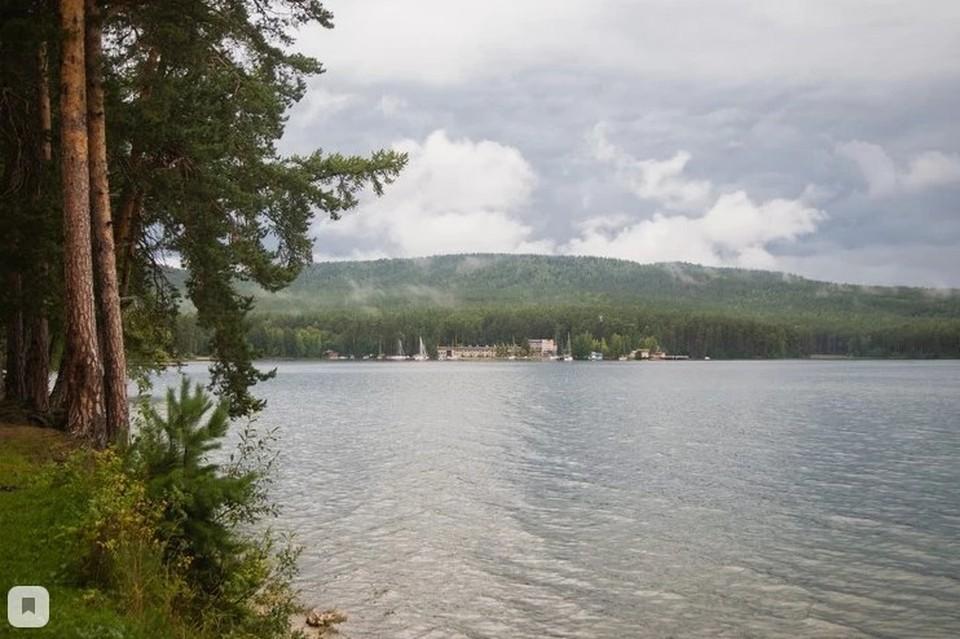 Тургояк - излюбленное место отдыхающих
