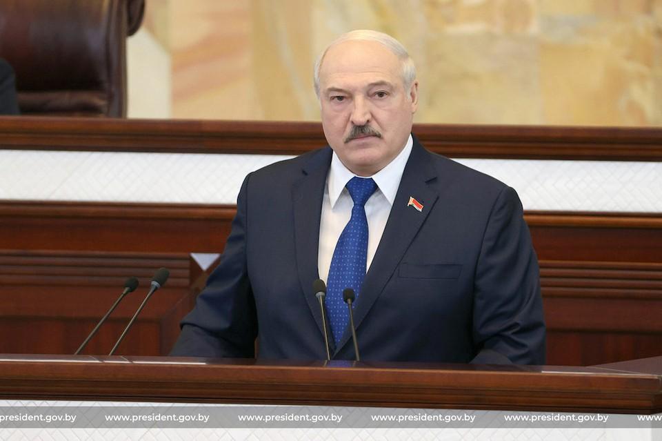 Александр Лукашенко выступает в Овальном зале Фото: president.gov.by