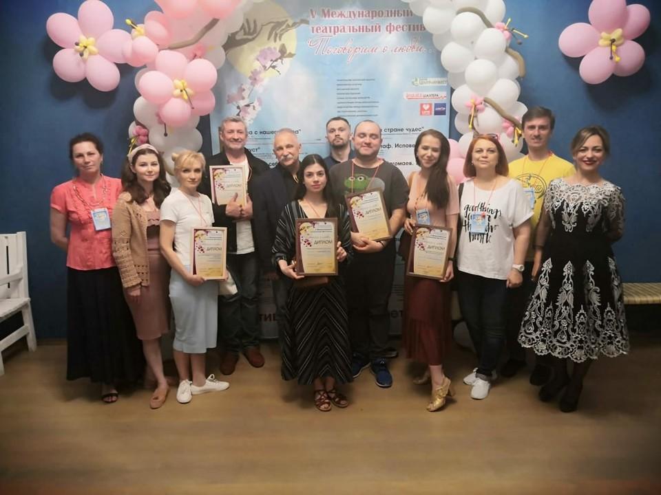 Наши кукольники завоевали награды в номинациях «Лучший ансамбль» и «Приз зрительских симпатий».
