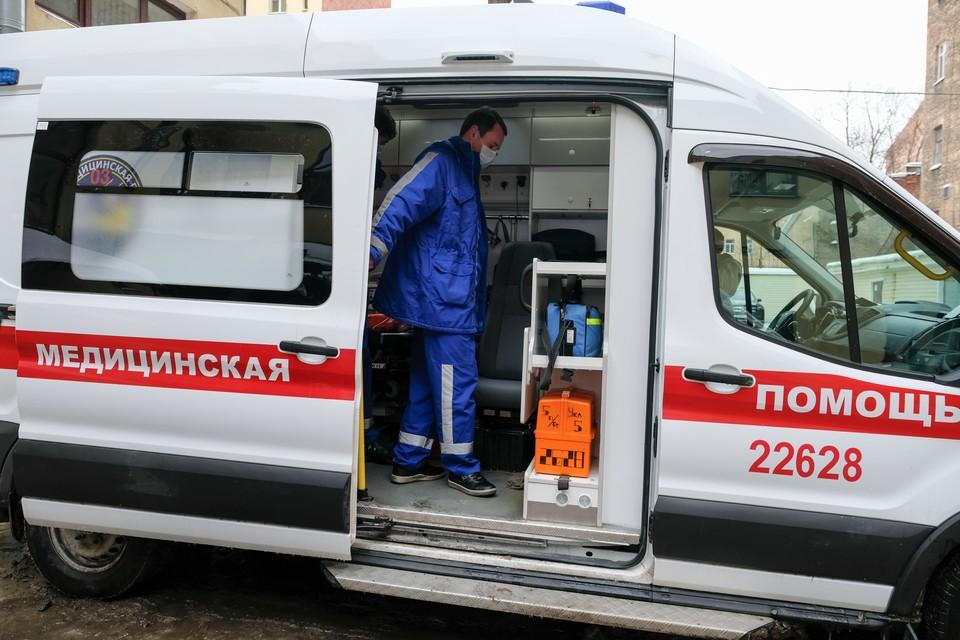 Стало известно о состоянии пострадавших в ДТП с автобусом и столбом в Петербурге