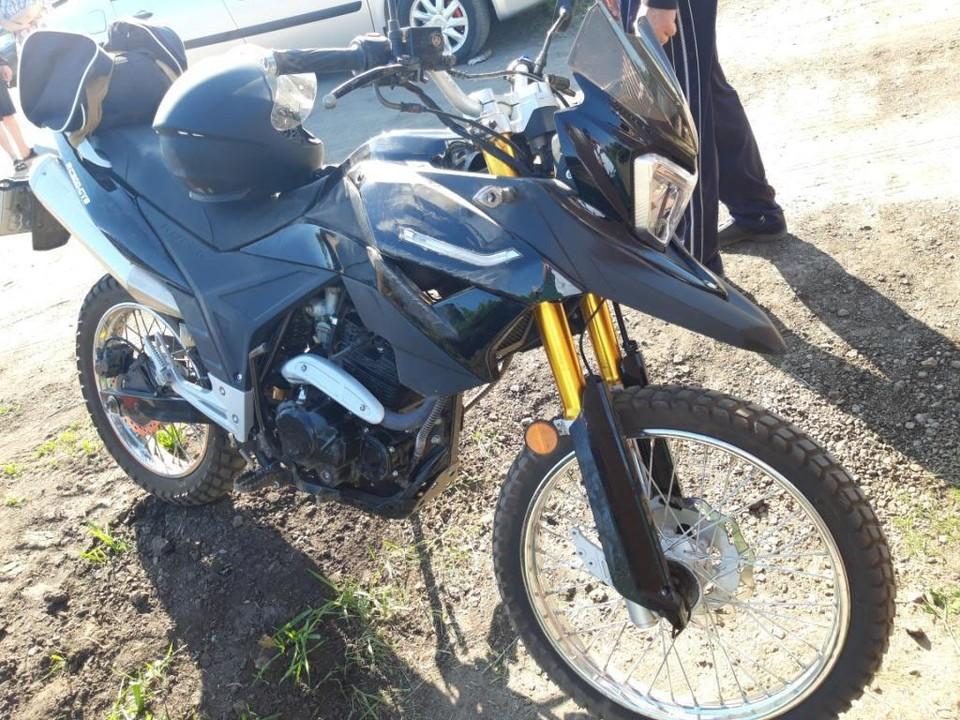В Моршанске женщина сбила мотоциклиста