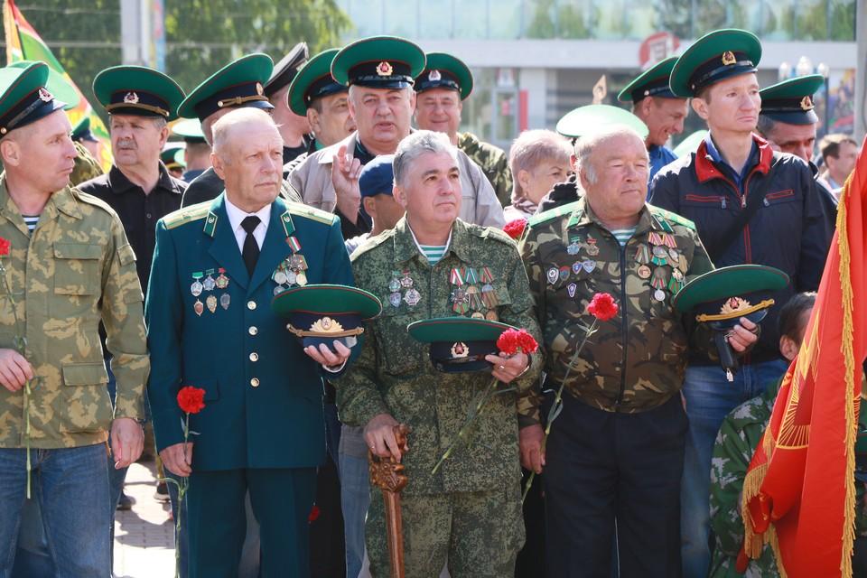 День пограничника в Барнауле - 2021.