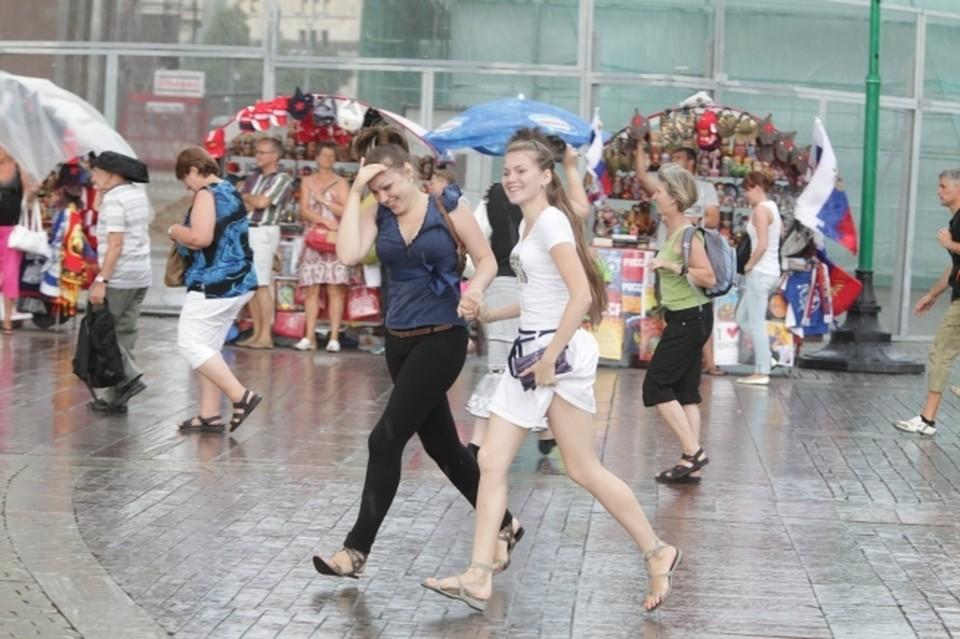 В воскресенье синоптики прогнозируют в Башкирии дождь и грозу