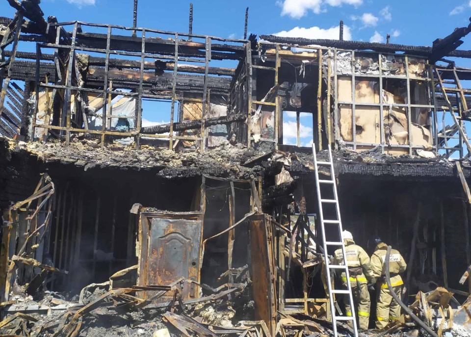 В Бурятии задержан владелец хостела, в котором при пожаре погиб один человек. Фото: СУ СК России по Бурятии.