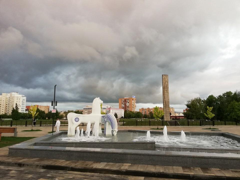 Непогода задержится в Орле