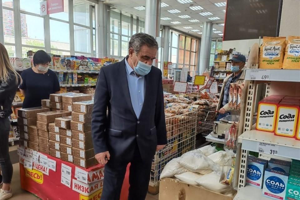 Цены на сахар и подсолнечное масло держат под контролем в Хабаровске