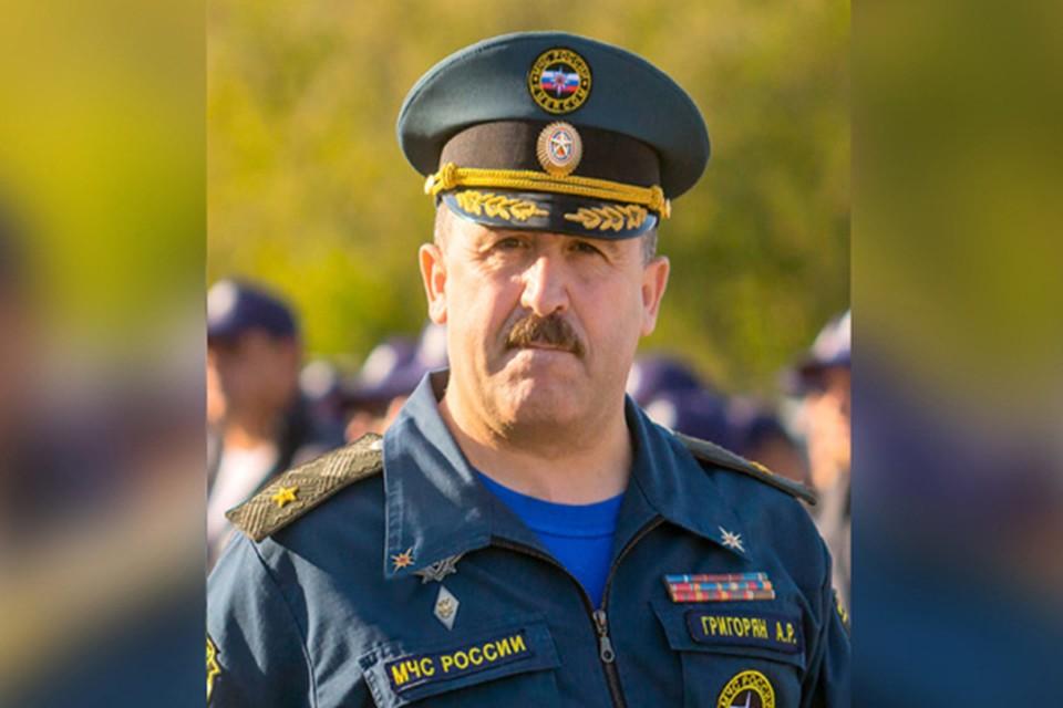 Арсен Григорян отчитался о доходах за 2020 год Фото: ГУ МЧС России по Тверской области