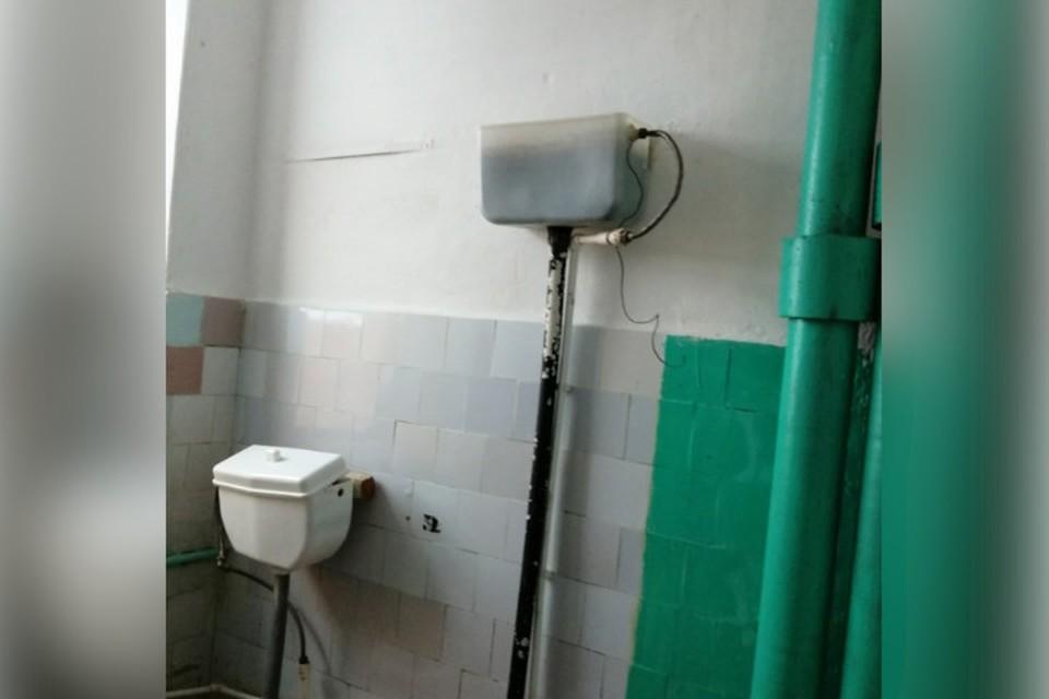 Тот самый туалет в нефтекамской школе