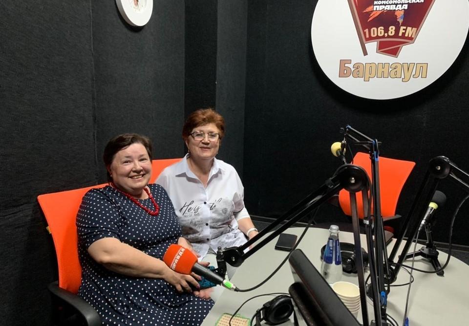 Галина Харламова (слева) и Наталья Картушина.