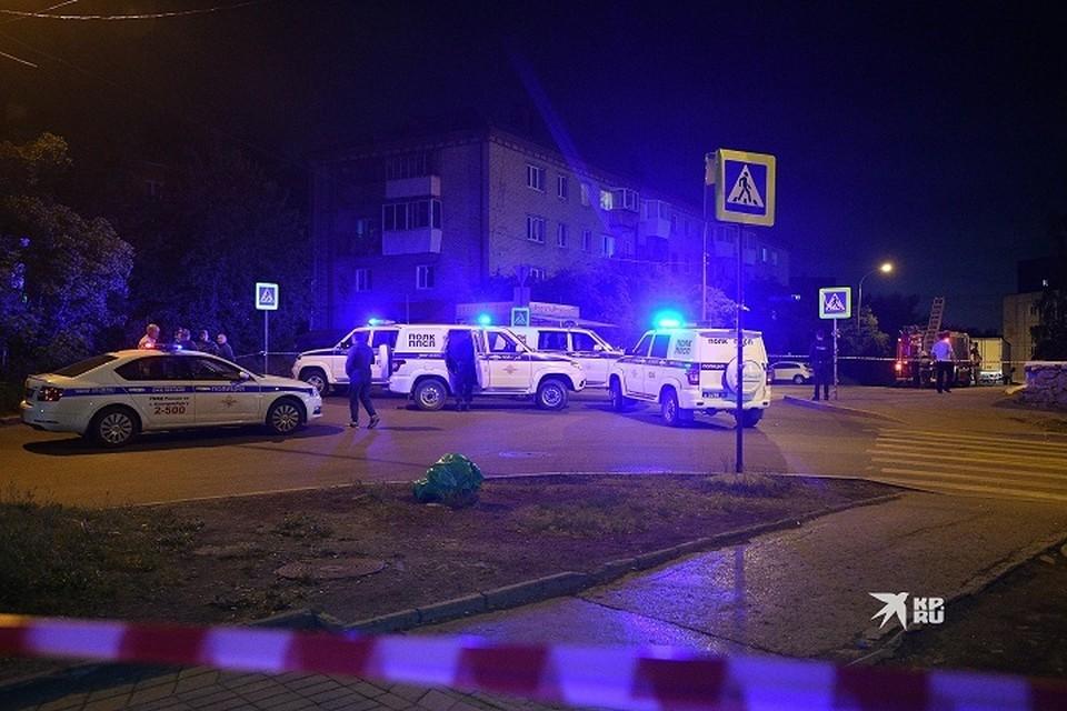 После стрельбы силовики нашли под окнами и в квартире Сергея Болкова 73 гильзы