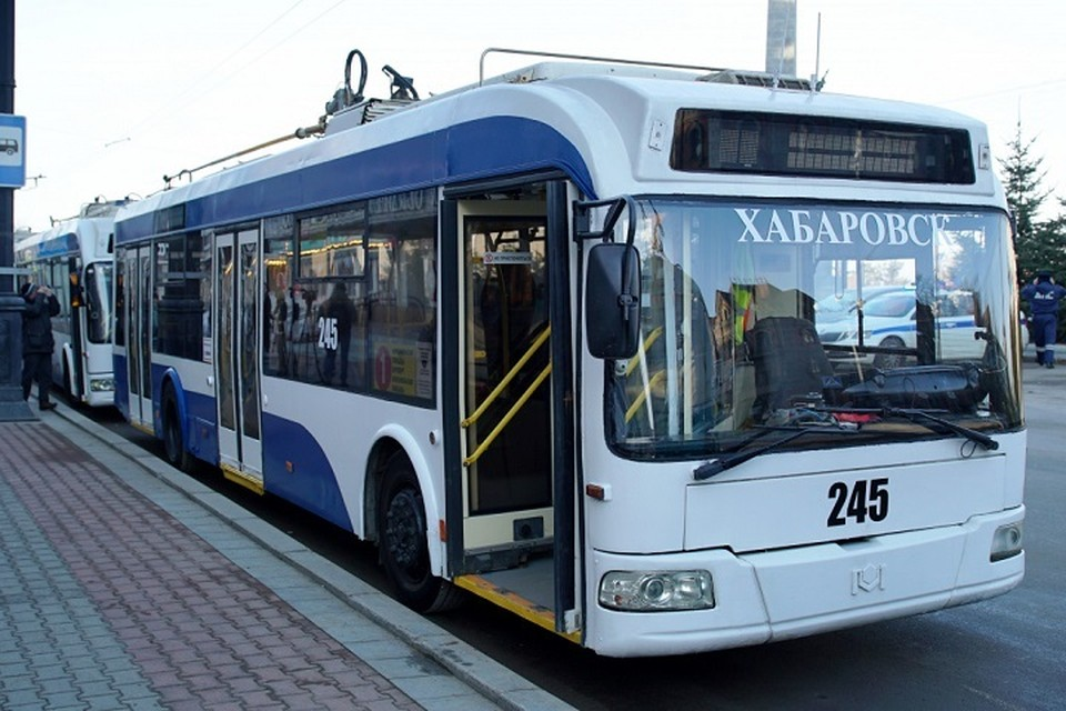 Еще четыре московских троллейбуса вскоре выйдет на маршрут в Хабаровске