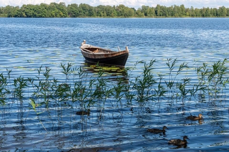 Лодку омича нашли ниже по течению.