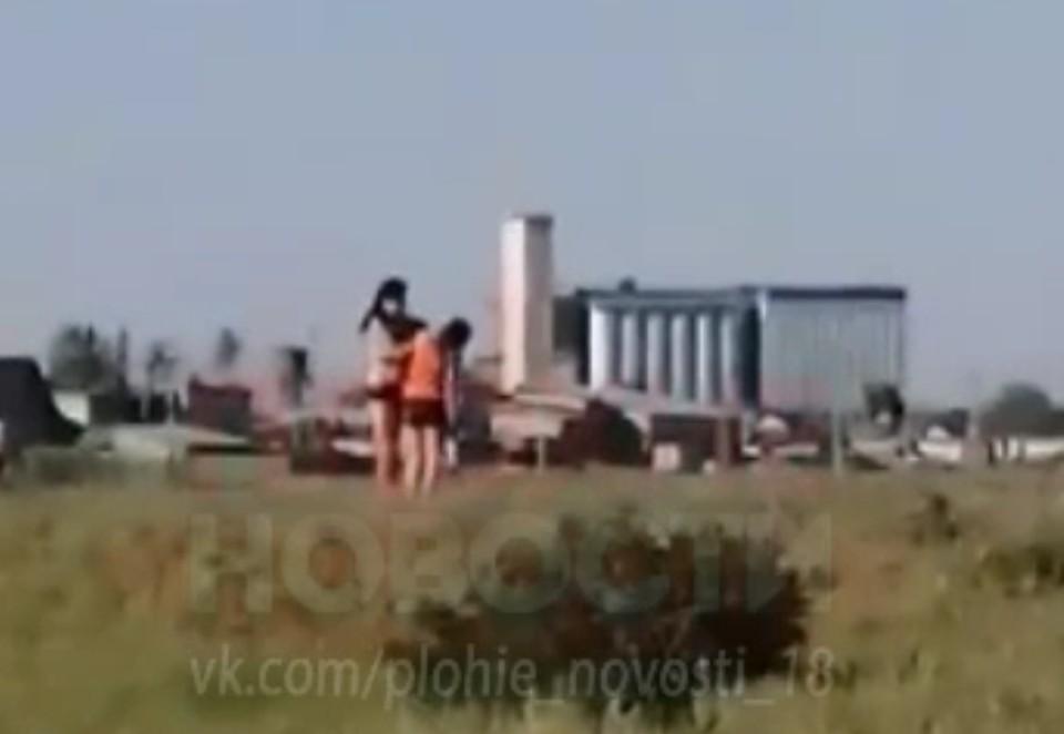 Фото: скриншот с видео / vk.com/plohie_novosti_18