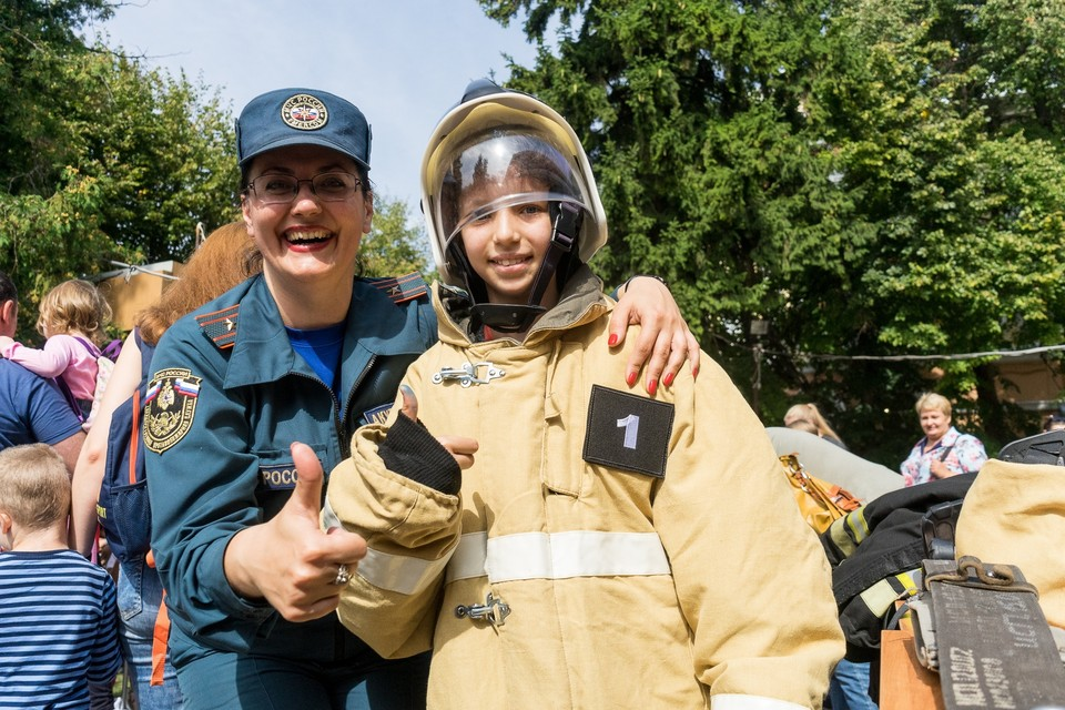 Орловские спасатели приглашают детей на эстафету и флешмоб 1 июня