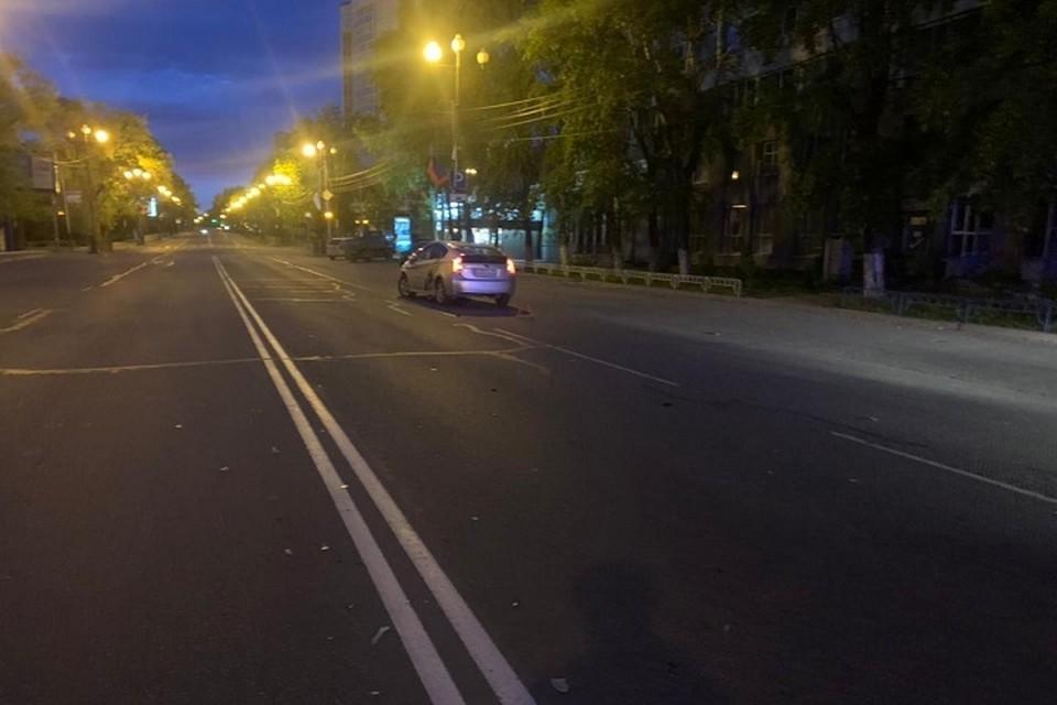 Переломы ребер, грудины и ноги получил сбитый в Хабаровске пешеход Фото: ГИБДД г. Хабаровска