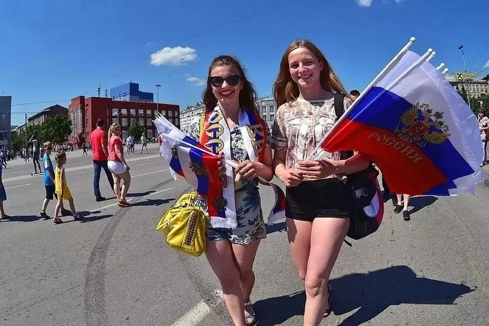 В День России каждый сможет себе найти занятие по душе.
