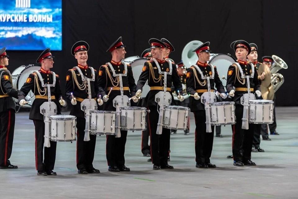 Московские суворовцы стали лучшими на фестивале «Амурские волны» в Хабаровске