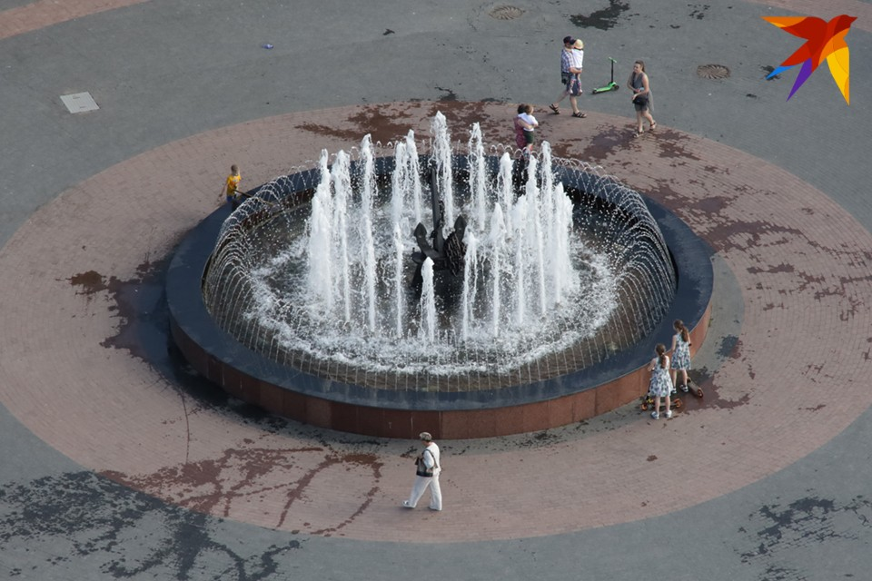 Основных фонтанов в городе шесть.