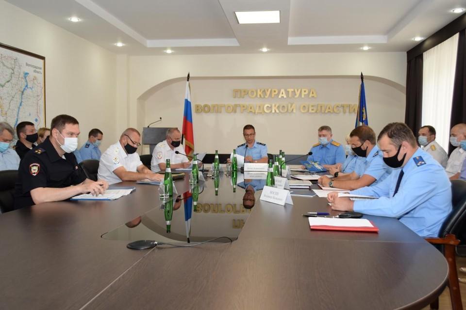 В областной прокуратуре обсудили бюджетное законодательство и государственные закупки. Фото: ВОП