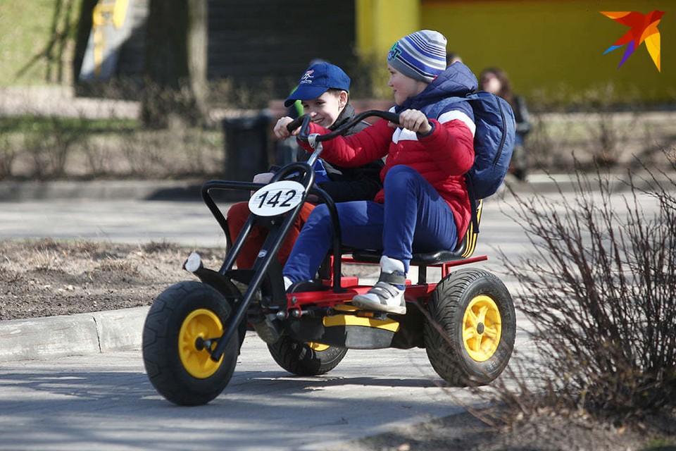 В Беларуси более 80 процентов всех детей живут в городах.