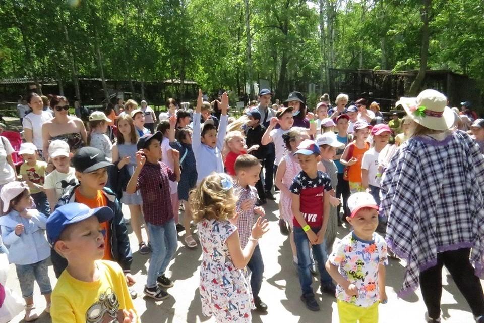 «Зоосад «Приамурский» объявил бесплатный вход для детей и родителей