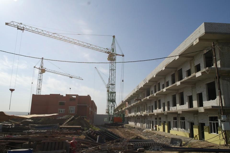 Строительство инфекционной больницы в Елшанке