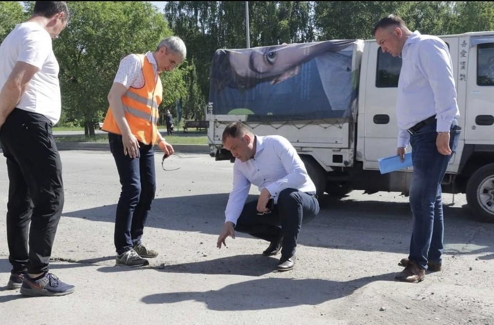 Мэр Кемерова рассказал о строительстве дорог в городе. Фото: Instagram/ilyaseredyuk.