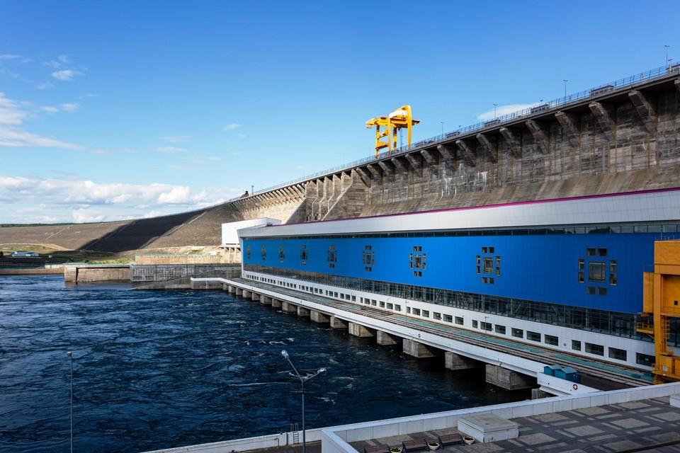 Богучанская ГЭС, май 2021 года. Фото предоставлено компанией