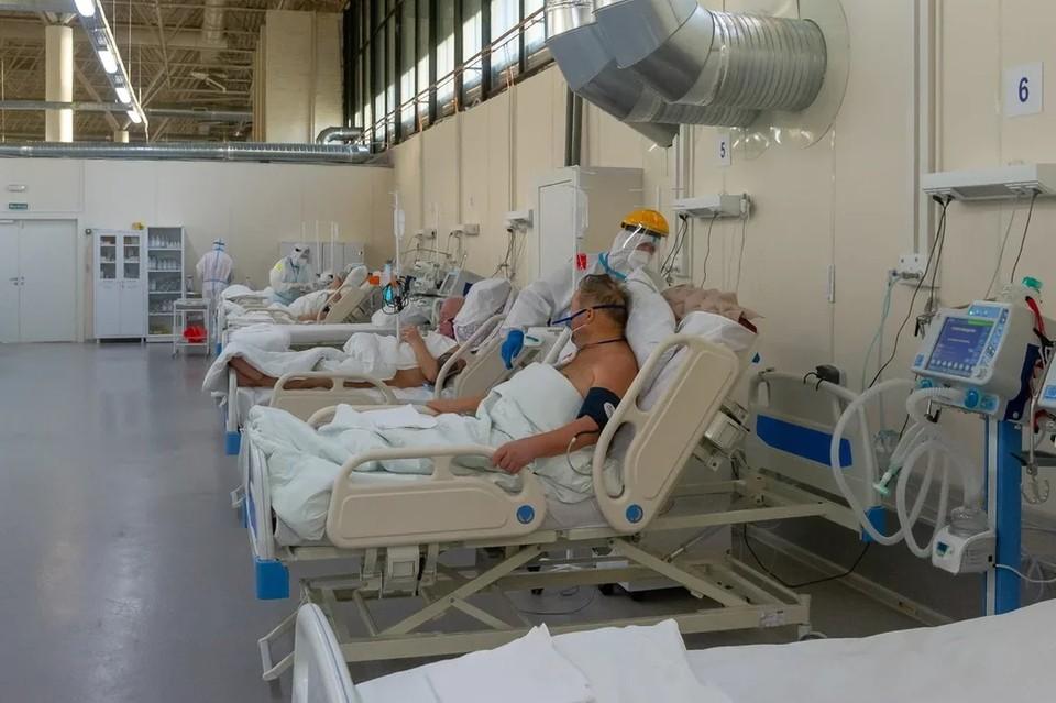 В Петербурге выросло на 22% число госпитализаций в стационары за неделю.