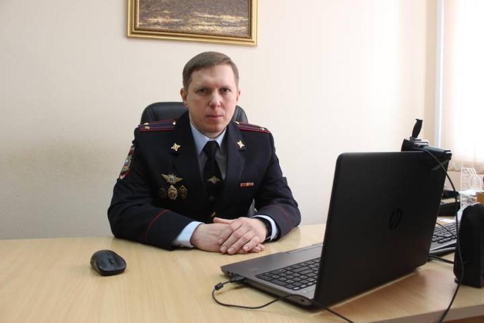 Начальник пятого отделения уголовного розыска Павел Шмыров. Фото: Пресс-служба УМВД Кировской области