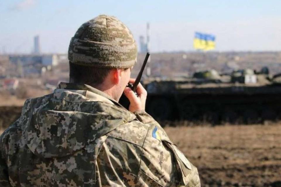 В Донбассе снова горячо. Фото: штаб ООС