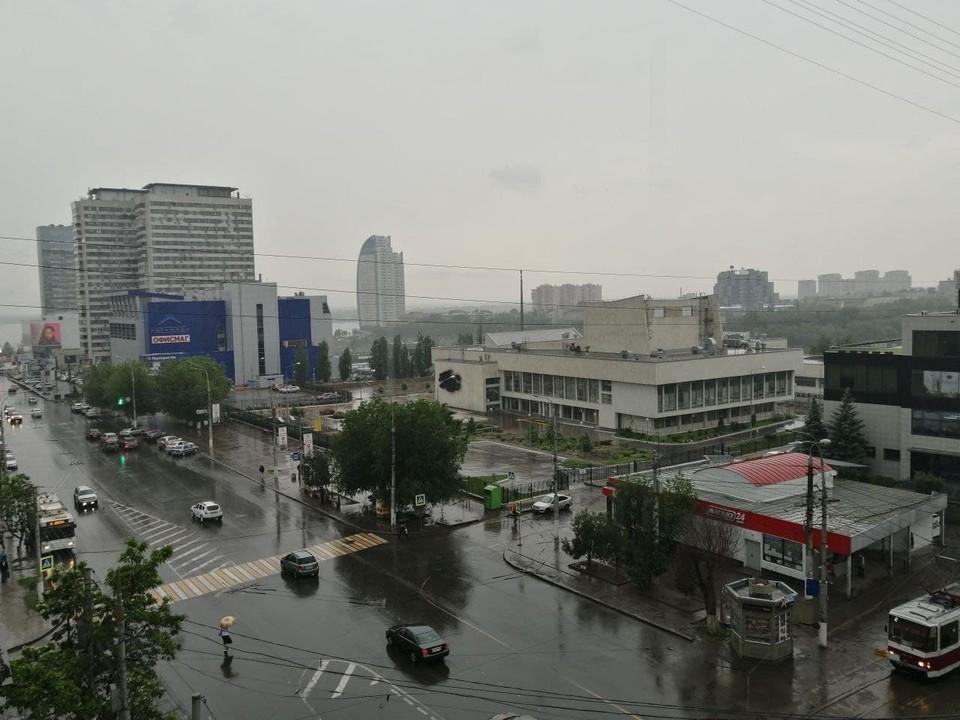 В среду в Волгограде будет неустойчивая погода