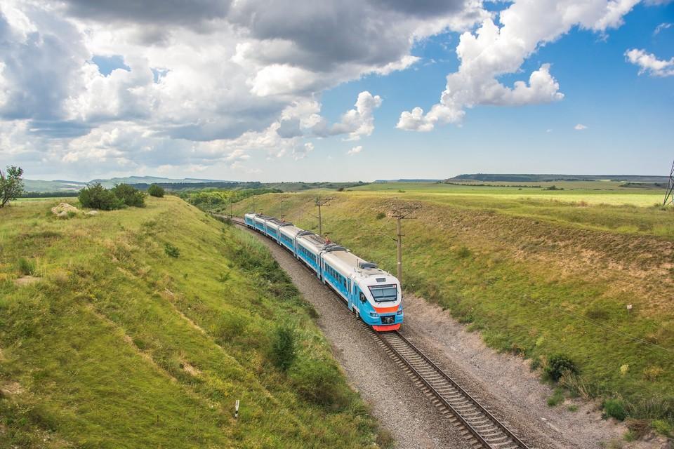 На маршруте работают рельсовые автобусы РА2. Фото: ЮППК / ВКонтакте.