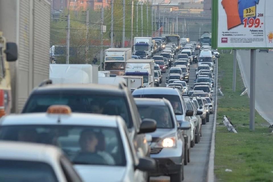 Пробки 3 июня утром в Новосибирске составили 6 баллов.