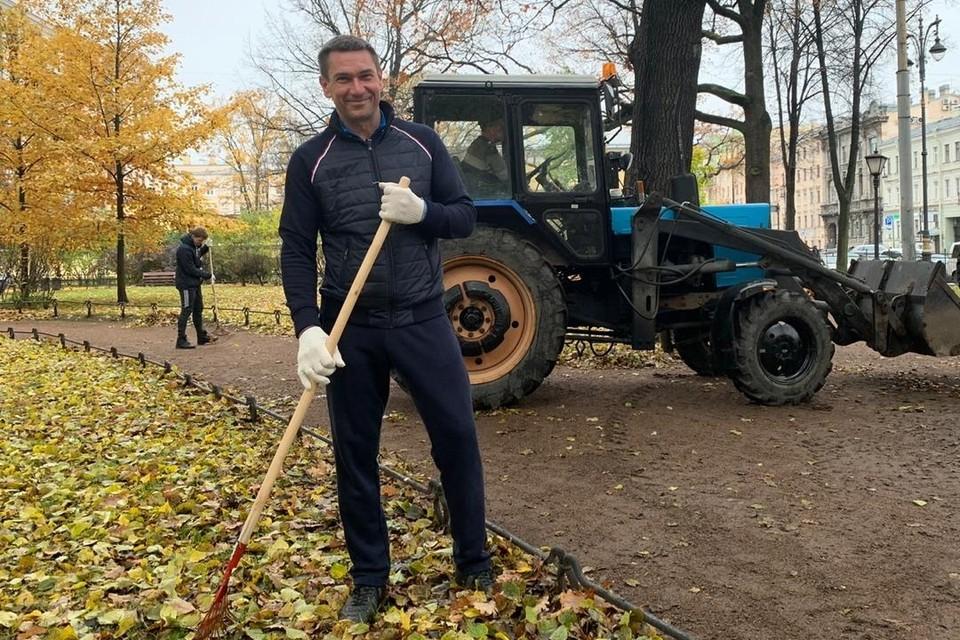 Александр Жуков работал в Смольном с 2013 года. Фото: gov.spb.ru