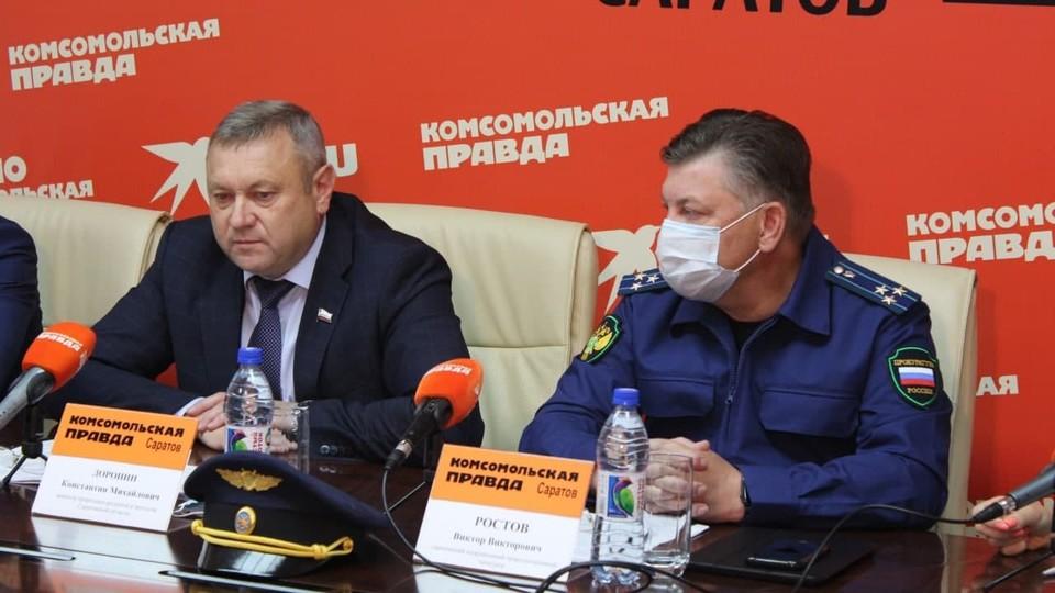Константин Доронин и Виктор Ростов