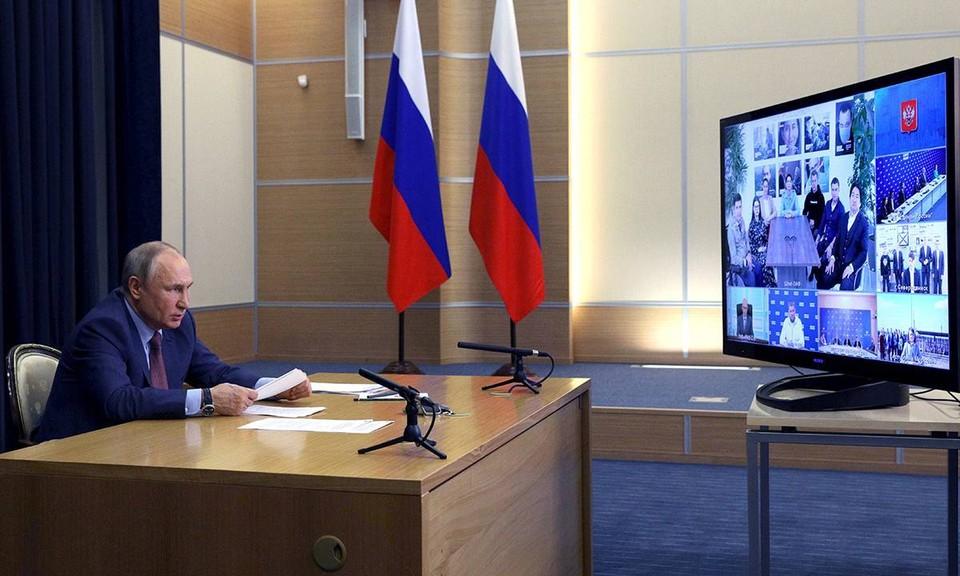 Владимир Путин напомнил народным избранникам о доверии и ответственности