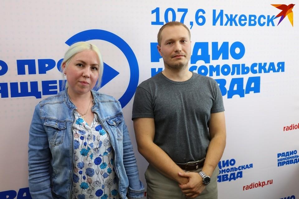 Дарья Байраншина, активист, жительница Пугачево, и Руслан Поняев, который служил в армии во время взрывов в Пугачево
