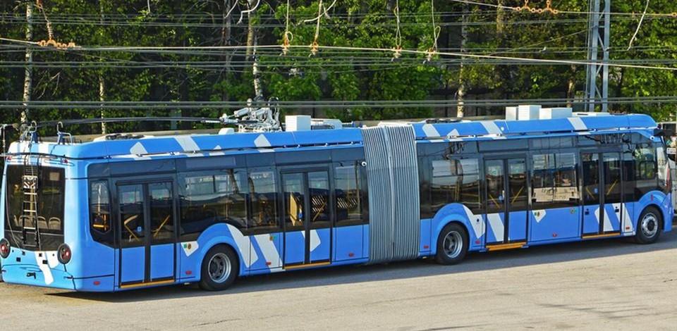 Все 40 подаренных Москвой троллейбусов прибыли в Нижний Новгород