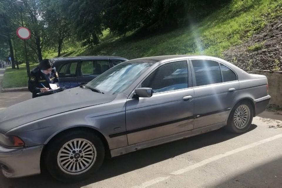 Машину нашли на парковке возле работы ярославца. Фото: УФССП России по Ярославской области