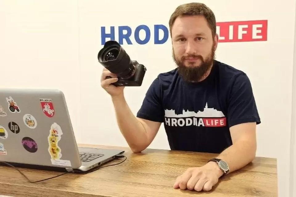 Недавно редактора популярного гроденского портала уже задерживали. Фото: Hrodna.life