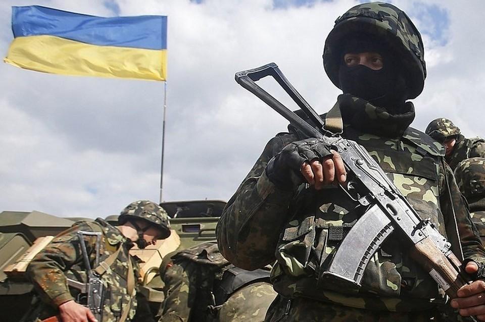 Радикалы прибыли в Донбасс. Фото: Штаб ООС