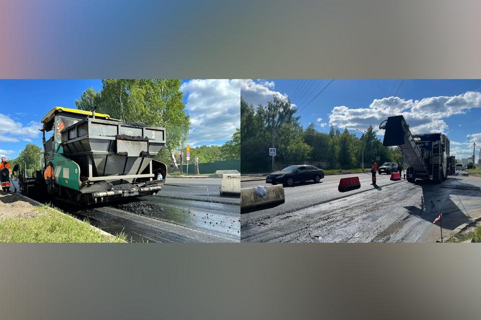 В Твери началась масштабная кампания по ремонту дорог. Фото: пресс-служба Администрации Твери.