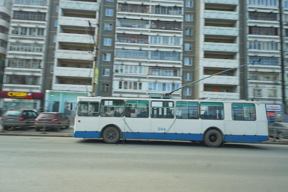 Троллейбусный маршрут из-за ремонтных работ не будет курсировать до сентября