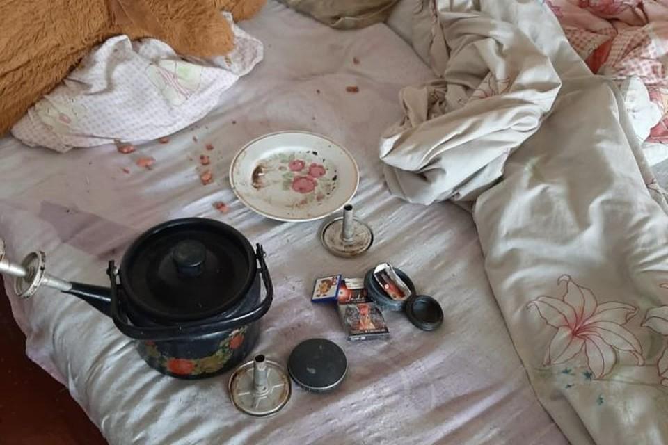 Дети были без присмотра, потому что женщина спала, употребив наркотики. Фото: УМВД России по Екатеринбургу