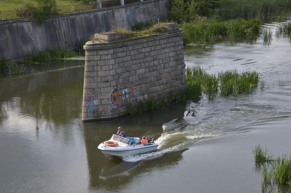 В Тульской области официально открыли сезон речной навигации