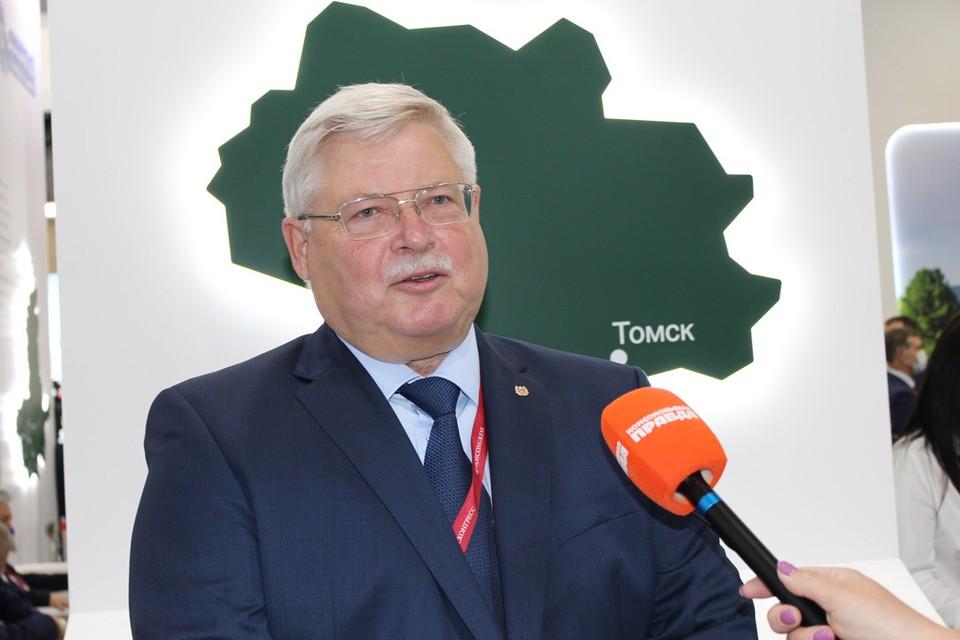 Губернатор Томской области Сергей Жвачкин.