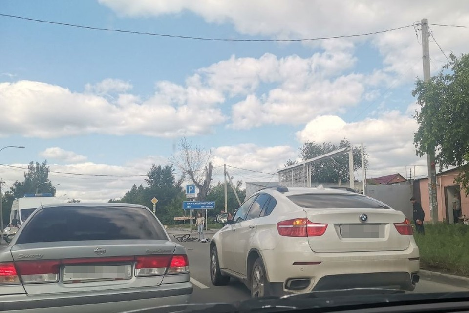 В Новосибирске иномарка сбила ребенка.