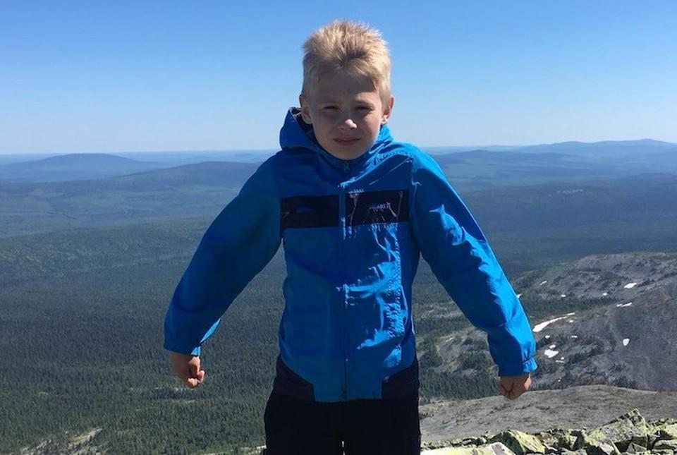 Мальчик провел в тайге двое суток. Фото: пресс-служба ГУ МВД по Свердловской области