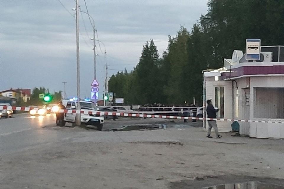 Фото с места аварии. Фото: ЧП в Нижневартовске